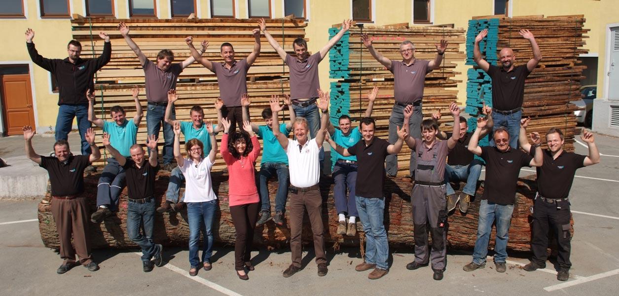 Fischerholz-Team